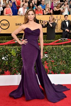 See All the Stars on the SAG Awards Red Carpet!: Some of Hollywood's hottest stars have gathered in LA for tonight's SAG Awards, with plenty of TV and film stars popping up on the red carpet.