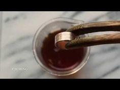 V02|木目金雙套環銀戒 # Mokumé Gane 2′ 03″ - YouTube