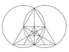 Resultado de imagen para geometria sagrada en blanco y negro