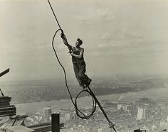 Lewis Hine: Icarus, Empire State Building (1987.1100.119) | Heilbrunn Timeline of Art History | The Metropolitan Museum of Art
