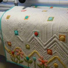 nice doodle quilting