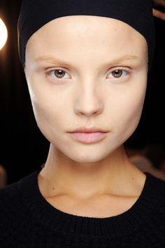 Super natural makeup in McQueen