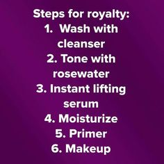 Steps for Royalty Youniqueproducts.com/KaylaAyers