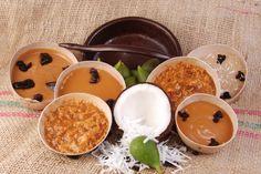 Variedad de Manjarblanco, dulce de leche típico del Valle del Cauca.