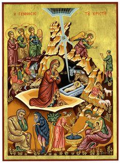Religious icon art - Home - Αρχική Renaissance Image, Greek Icons, Paint Icon, Byzantine Icons, Icon Collection, Religious Icons, Orthodox Icons, Sacred Art, Nativity
