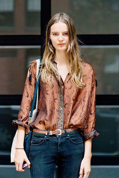 Vanessa Jackman: New York Fashion Week SS 2013....Tilda
