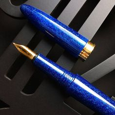 Blue BENU Fountain pen