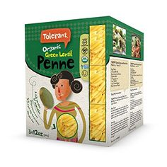 Tolerant Organic Green Lentil Penne  Three 12 oz Packs >>> Check this awesome product by going to the link at the image. (Note:Amazon affiliate link)