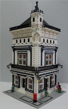 LEGO Moc Modular Pip Corner 000 | ReBrick | From LEGO Fan To LEGO Fan