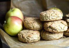 Biscotti alla mela e fiocchi d'avena