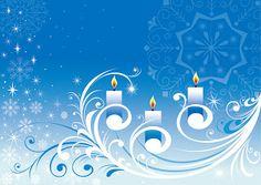 """""""illustmobi: (Bezier info ベジェ インフォ: 雪とキャンドルのクリスマスの背景 SNOWFLAKE CANDLE PATTERN VECTOR イラスト素材から) """""""