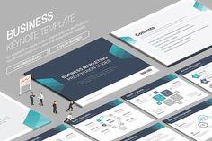 Business Keynote Template vol.7 by Lunik Studio on @creativemarket