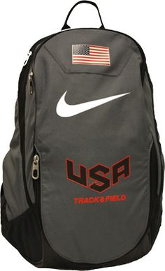 1d1687607946 Nike USATF Club Team Nutmeg Backpack