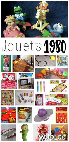 Jeux et jouets en 1980. Un compilation pour se rappeler de bons souvenirs!