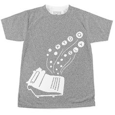 Chasers of the Light: Poems from the Typewriter Series | Book T-Shirt | Litographs