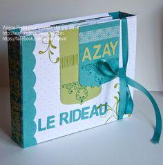 Les Ateliers de Val: Mini Album Azay Le Rideau