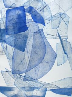 Eben Goff - Bathoith Etching, Monoprint #B-7 | From a unique collection of abstract prints at http://www.1stdibs.com/art/prints-works-on-paper/abstract-prints-works-on-paper/