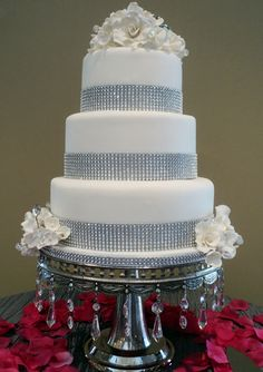 Wedding Cake with Bling