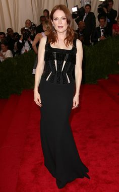 Julianne Moore from 2015 Met Gala Arrivals  In Givenchy
