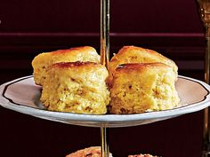 Cornmeal Angel Biscuits Recipe   Like a cross between a buttermilk biscuit and a Parker House roll, these addictively light and buttery biscuits have added color, flavor and texture from yellow cornmeal. Your guest will be intrigued by the little touch of Southern cornbread flavor, even if it is a biscuit! Brush with extra butter and serve warm—we're sure they will earn a permanent spot in your Thanksgiving bread basket. The dough can be made up to 1 week in advance.
