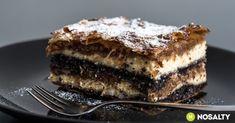 Muravidéki gibanica recept képpel. Hozzávalók és az elkészítés részletes leírása. A muravidéki gibanica elkészítési ideje: 75 perc Poppy Cake, Lava Cakes, Top 5, Sweet Cakes, Diy Food, Farmers Market, Oreo, Fudge, Dessert Recipes