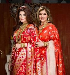 Dimple And Twinkle In A Beautiful Dresses Available At Lady Selection Showrooms