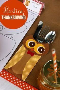 How to host Thanksgiving dinner - perfect especially when little kids will be involved!
