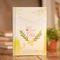 God's Heart for You - Christian Journal