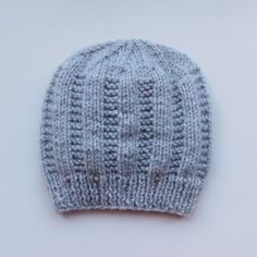 Baby Cardigan Knitting Pattern Free, Baby Hats Knitting, Baby Knitting Patterns, Free Knitting, Knitted Hats, Cardigan Pattern, Knitting Ideas, Crotchet Patterns, Baby Hat Patterns