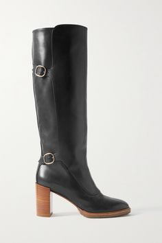 Gabriela Hearst, Leather Working, Black Boots, Sustainability, Riding Boots, Knee Boots, Silhouette, Heels, Maxi Dresses