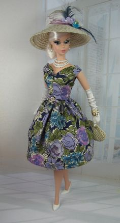 The Stroll for Silkstone Barbie and Victoire Roux on Etsy now Vintage Barbie Clothes, Vintage Dresses, Doll Clothes, Vintage Outfits, Vintage Fashion, 1950s Dresses, Doll Dresses, 1950s Fashion, Vintage Dolls