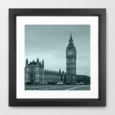 Big+Ben+Framed+Art+Print+by+Alice+Gosling+-+$37.00