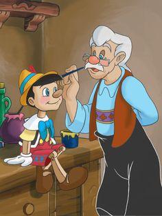 Pinocchio & Gepetto