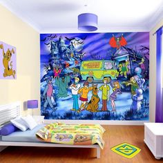 Scooby+Doo+Theme+Room   scooby doo bedding for toddlers boy girls ...
