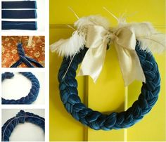 Awesome Easy to Make Wreaths Ideas ~ http://www.lookmyhomes.com/easy-to-make-wreaths/