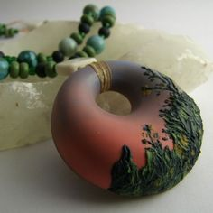 Cate vanAlphen as featured on The Polymer Arts magazine's blog.