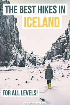 21 Epic Hikes in Iceland (For All Levels!) - Looking for the best hikes in Iceland? These Iceland hikes will have you walking amongst some of the most amazing scenery you've ever seen! #iceland #hiking #icelandhikes