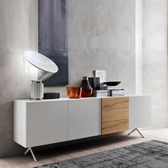 Contempo by Orme contemporary Italian living room cupboard/sideboard