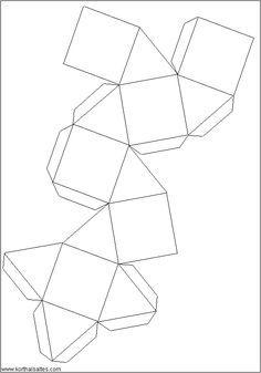 download geometric shape templates templates paper folding