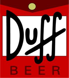 Check out this awesome 'Duff+Beer' design on Simpsons Party, The Simpsons, Sweat Cool, Duff Beer, Simpsons Drawings, Decoupage Vintage, The Duff, Geek Stuff, Lettering
