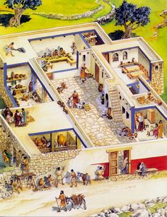 Home construction in Jesus days. This wonderful article describes how the poor, working poor, and more fluent people of Jesus days constructed their homes, and lived; describes roof top activities, and water/heat/ animal rooms. Ancient Rome, Ancient History, Holy Land, Ancient Architecture, Bible Lessons, New Testament, Roman Empire, Sunday School, Jerusalem