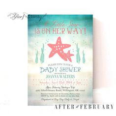 Mermaid Baby Shower Invitation   Under The Sea Baby Sprinkle Invite By  PuggyPrints On Etsy | Mermaid Baby Shower | Pinterest | Mermaid Baby Showers,  ...