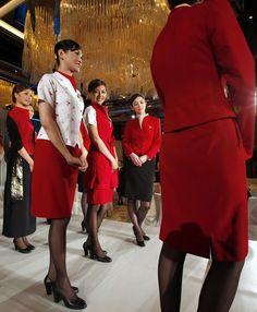 Cathay Pacific's new cabin crew uniforms ~ Cabin Crew Photos