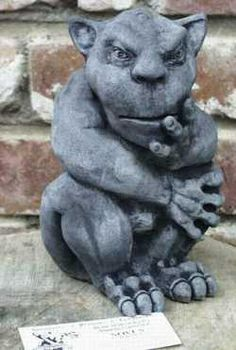 Gargoyles statues for the home from The Stone Griffin -- Catalog Section 2
