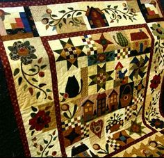 Thimbleberries Club Block Of The Month 2007 Quilts