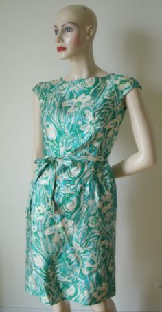 Hey, I found this really awesome Etsy listing at https://www.etsy.com/listing/184291561/early-60s-vintage-miss-bergdorf-goodman