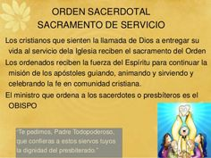 Los Siete Sacramentos – A la paz de Dios Religion Catolica, Event Ticket, Blog, Liliana, Catholic Art, Texts, Bible Study Notebook, Community Service, Wedding Stage