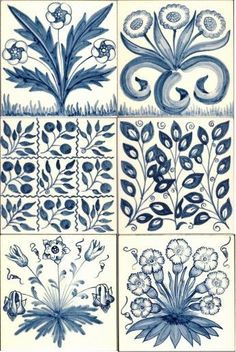 William Morris tiles   http://www.artontiles.co.uk/press-office-Tiles-give-fresh-perspective-on-Arts--Crafts-movement-23