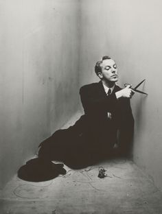 Jacques Fath, 1948  photo by Irving Penn
