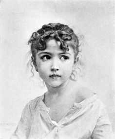 untitled picture by William Adolphe Bouguereau William Adolphe Bouguereau, Sketch Head, Potrait Painting, Beaux Arts Paris, Realistic Eye Drawing, Amazing Drawings, Awesome Sketches, Figure Sketching, Cool Paintings